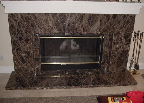 Fireplace Refacing Orange County Ca Stone Brick