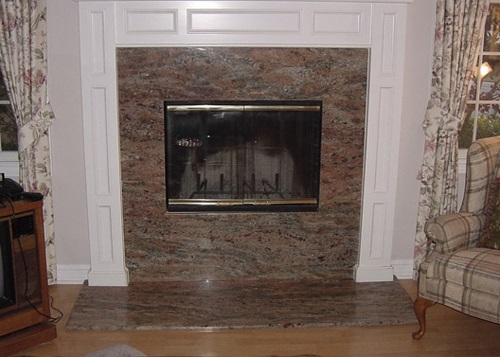 Fireplace Refacing Orange County Ca Stone Brick